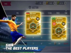 REAL FOOTBALL MOD APK 1.7.2 (UNLIMITED MONEY/GOLD) 3